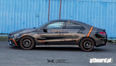 MERCEDES CLA 250 COUPE ORANGE EDITION